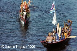 Canoe Journey 2006 - Copyright Sophie Lagacé, 2006
